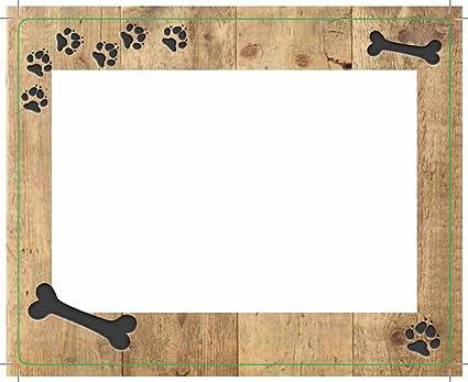 Gilde Flexi del marco plástico hueso para perro regalo Ideas: Amazon ...