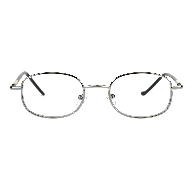 anteojos de resorte lentes transparentes con lente de marco lectura ...