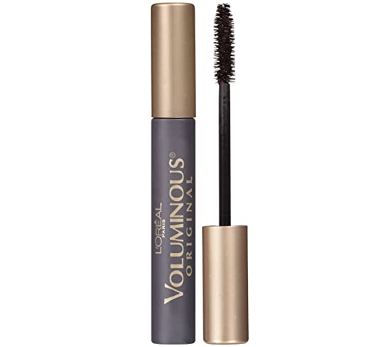 L'Oréal Paris Makeup Voluminous Original Mascara, Blackest Black, 0.28 fl. oz.