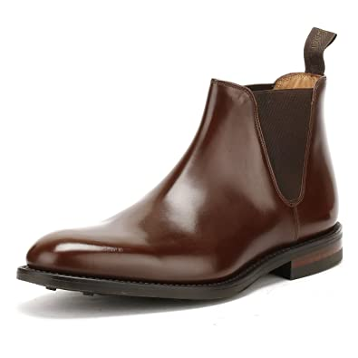 54c78a874e1f6 Loake Mens Brown Leather Ascot Chelsea Boots-UK 7: Amazon.co.uk ...