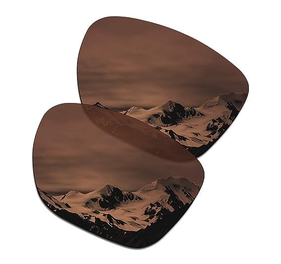 ff1ec0b1f8 SmartVLT Men s Amber Brown Replacement Lenses for Oakley Crossrange XL  Sunglass