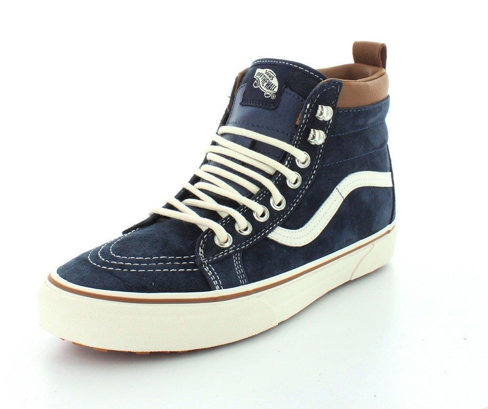 Vans U Sk8-Hi MTE, Zapatillas de Deporte Unisex Adulto 34.5 EU|Azul