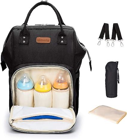 Pueri Sac de stockage de lait maternel sac isotherme Sac de biberon sac de voyage portatif sac /à dos pour maman