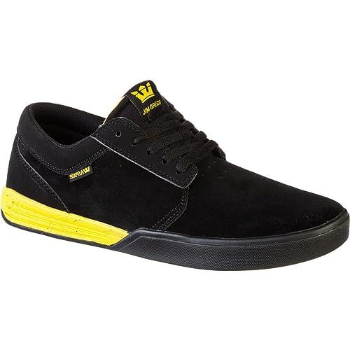 Supra - Zapatillas para Hombre Negro Negro: Amazon.es: Zapatos y complementos