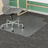 Deflect-o Antistatic Chair Mat, 46 by 60-Inch, Clear
