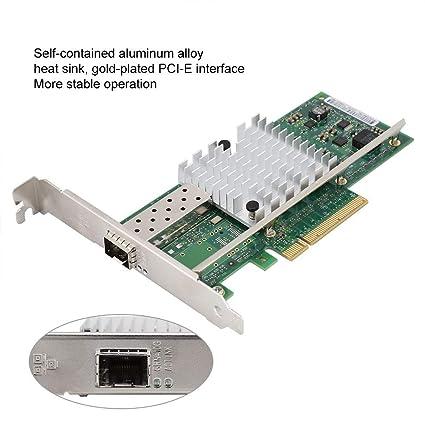 Wendry Tarjeta de Red PCI-E Gigabit, Intel X520-DA1 82599EN ...