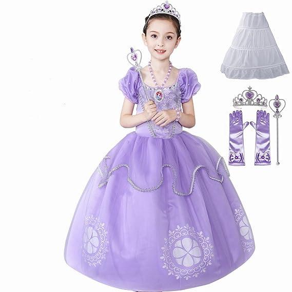 YaphetS - Vestido de fiesta para niñas 937068dd764
