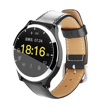 FANZIFAN Reloj Inteligente Smart Watch ECG+PPG Blood ...