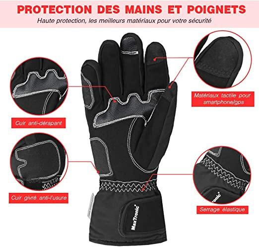 MaxTronic Motorcycle Glove