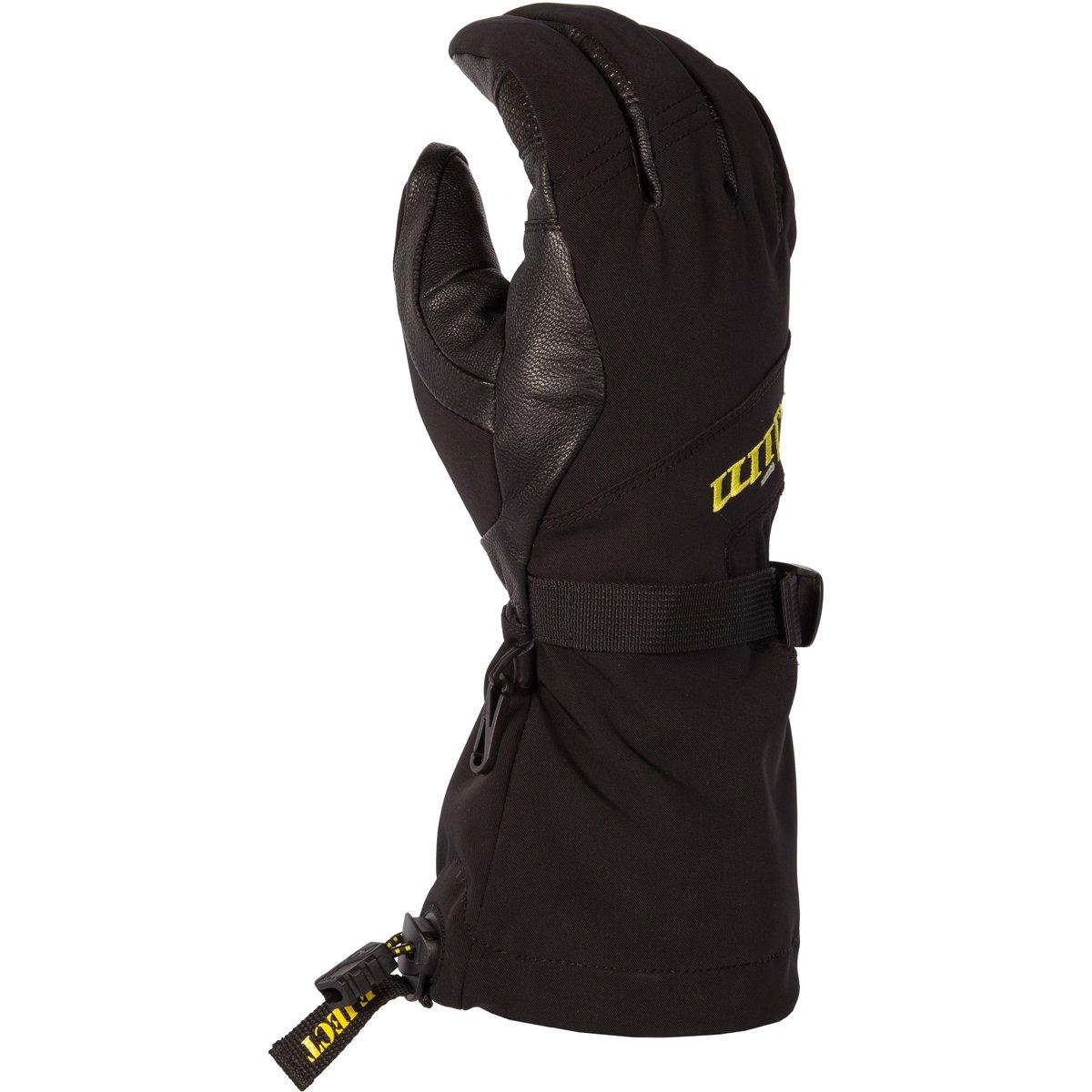 Klim Sawtelle Men's Ski Snowmobile Gloves - Black / 3X-Large