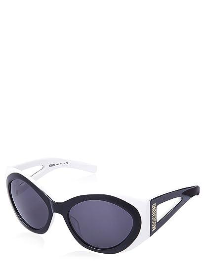 nerobianco Gafas Moschino negras mujer para sol de qwp7Hf