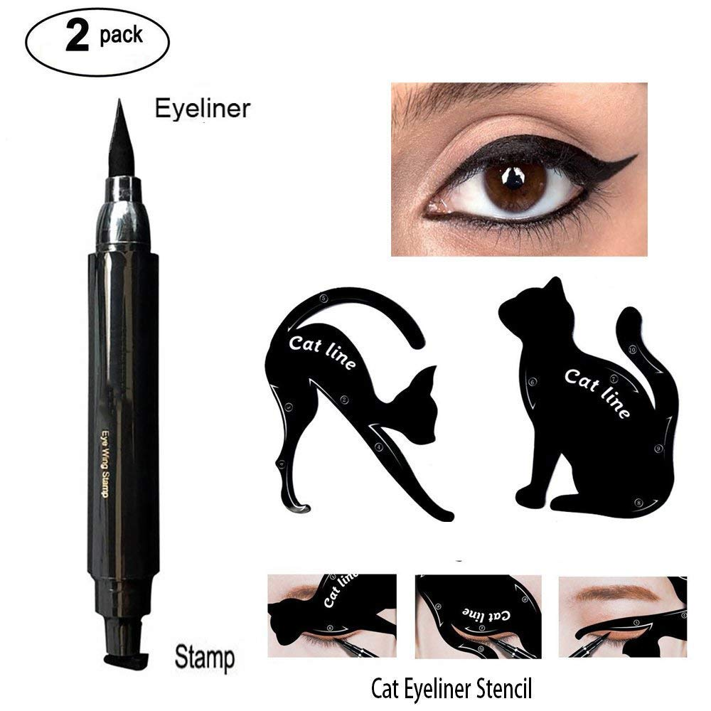 Amazon Waterproof Eyeliner Stamp Liquid Eyeliner Pen Easy To