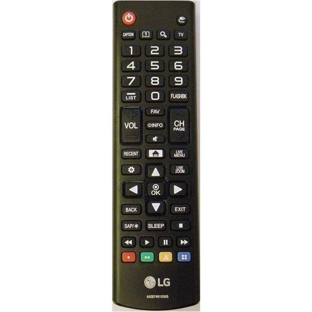 LG AKB74915305 TV Remote Control for 43UH6030 43UH6100 43UH6500 49UH6030 49UH6090 49UH6100 49UH6500 50UH5500 50UH5530 55UH6030 55UH6090 55UH6150 55UH6550 60UH6035 60UH6150 60UH6550 65UH5500 65UH6030 by LG