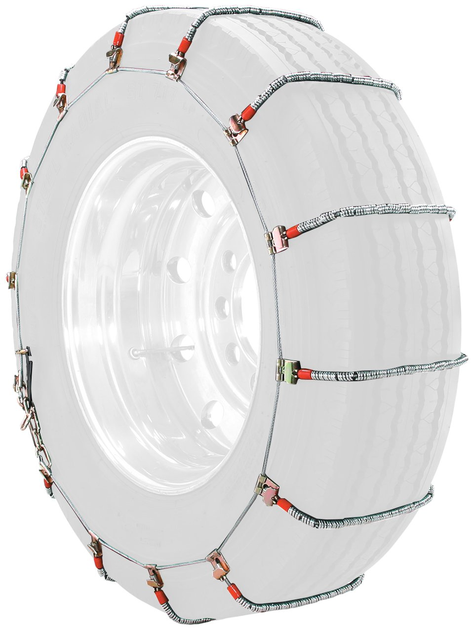 Security Chain Company TC2212MM Radial Chain LT Cable Tire Traction Chain for Light Trucks - Set of 2 by Security Chain (Image #1)