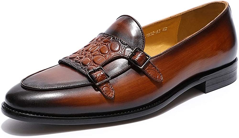 Mens Loafers Genuine service Leather Apron Slip New product type Shoes Dress Fashion On P