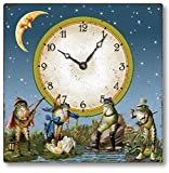 Cheap Item C5030 Vintage Victorian Style Frogs Clock