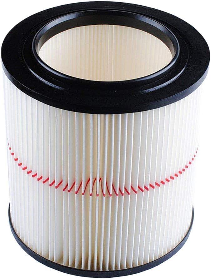 Todidaf Accesorios de aspiradora, Piezas de repuesto para barredora para Shop Vac Craftsman 9-17816 Filtro de aire húmedo, 1 pieza Filtro de cartucho: Amazon.es: Hogar