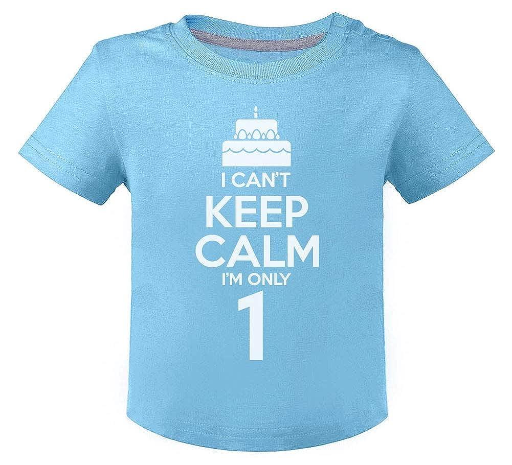 Camiseta para niños - I Cant Keep Calm Im Only 1- Regalo ...