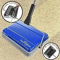 Varredora Nova Blue Cordless Carpet & Hard Floor Manual Sweeper