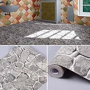 Amazon Com Yifely Grey Rock Stone Decorative Contact