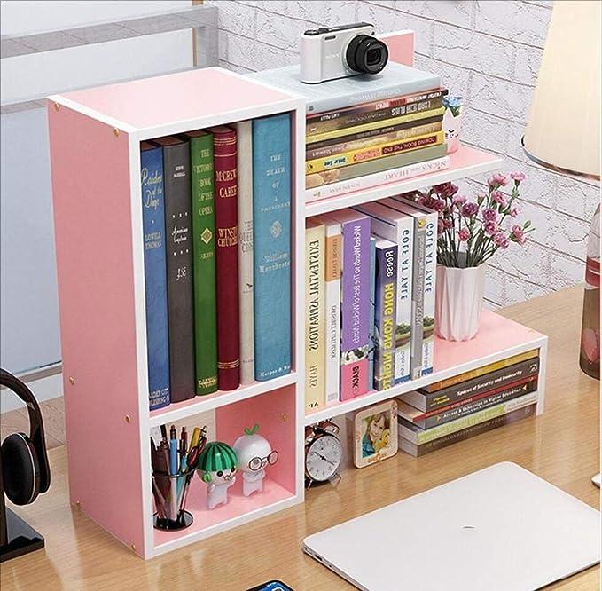 MODYL Simple Mesa Pequeña Librería Estudiante Escritorio Creativo ...