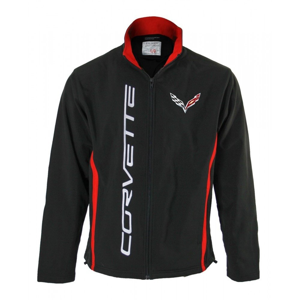 Chevy Corvette Men's Composite Softshell Jacket CALHOUN