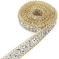 Dorado Cinta de diamante, Akozon 5 Yard 15mm