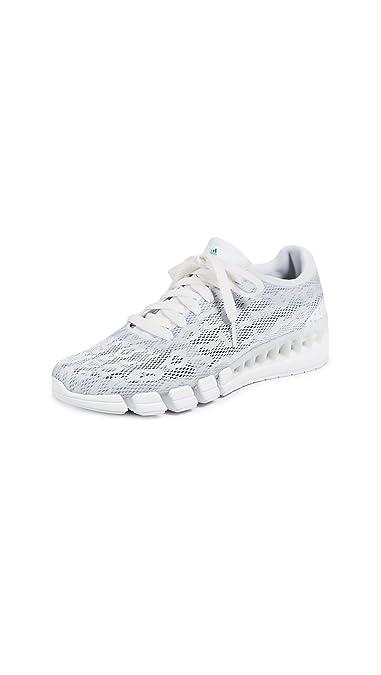 sports shoes 39e75 4dc2b adidas by Stella McCartney Women s Kea Clima Sneakers,  White Green Collegiate Navy,