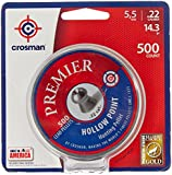 Crosman Premier Hollow Point Pellet .22 cal, 14.3 Gr., 500 count