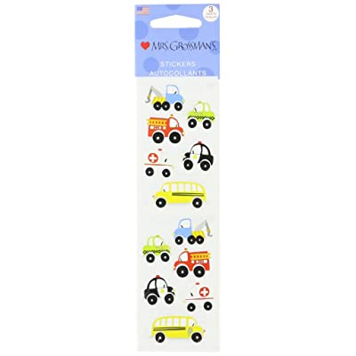 Mrs Grossman Stickers-Chubby Work Vehicles: Arts, Crafts & Sewing