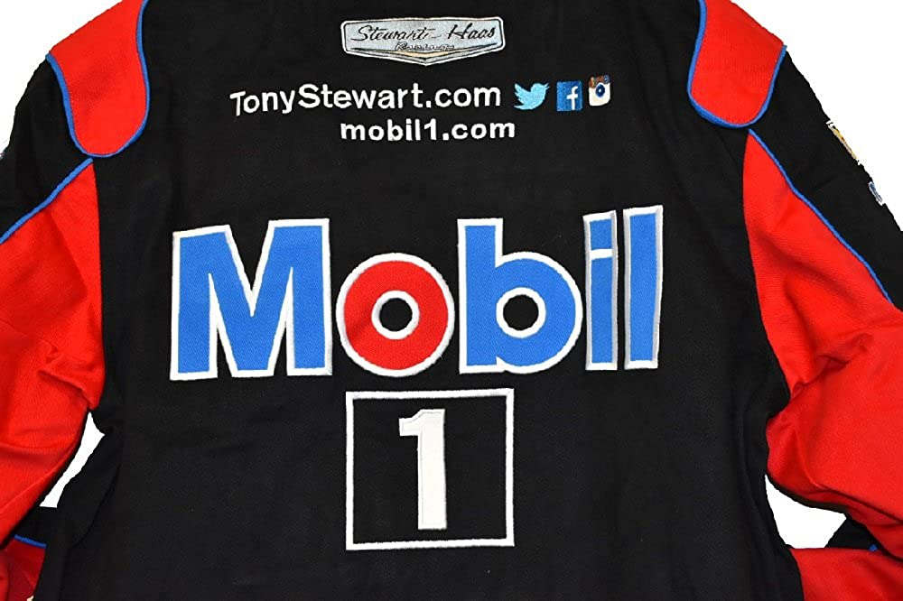 Amazon.com: Tony Stewart Mobil 1 Nascar chamarra talla 2 X L ...