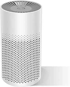 Purificador de aire portátil para el hogar con filtro HEPA verdadero, filtro de aire con modo reposo filtro aire USB para alergias fumadores polvo bacterias polen ...