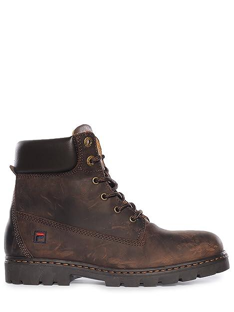 Fila - Botas de cuero para hombre marrón marrón 43  Amazon.es  Zapatos y  complementos 3109d22970d