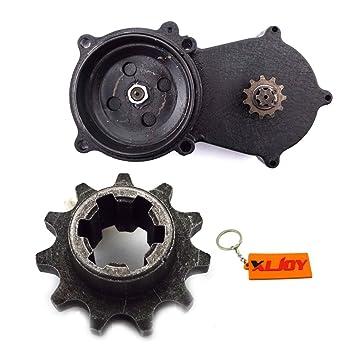 xljoy T8 F 11 dientes doble cadena embrague tambor Gear Box Fit 47 cc 49 cc Mini Moto Dirt Bike: Amazon.es: Coche y moto