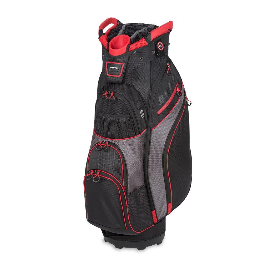 Bag Boy ゴルフチラーカートバッグ トップロック付き B07KF3Y7YP Black/Charcoal/Red