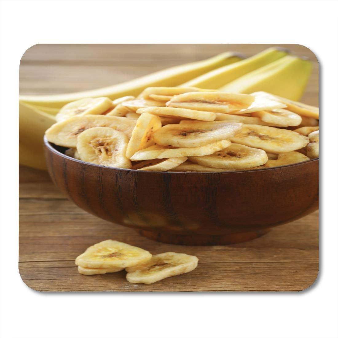 Almohadilla para ratón Patatas fritas de plátano confitadas ...