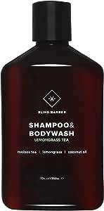 Lemongrass Tea Shampoo + {Body Wash} (Normal Hair), 250ml/8.5oz