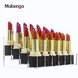 Mobengo Acryl transparente Lippenstift Halter Organizer Display Rack für Make-up Aufbewahrung
