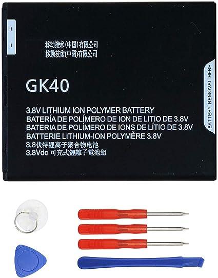 Amazon.com: Wee GK40 batería de repuesto para moto G4 Play ...