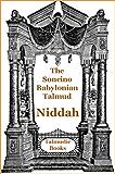 Talmud Niddah (Soncino Bablylonian Talmud Book 52)
