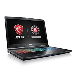 "MSI GP72VRX Leopard Pro-473 17.3"" 120Hz 5ms Display Thin and Light Gaming Laptop GTX 1060 3G Core i7-7700HQ 16GB 512GB NVMe SSD Full Color Keyboard"