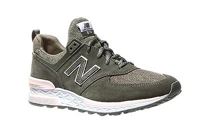 26587f0fbdadc New Balance 574 Sport Womens Sneakers Green: Amazon.com.au: Fashion