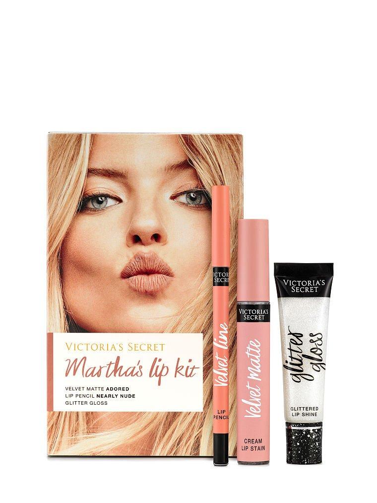 Victoria's Secret Velvet Matte Adored Cream Lip Stain Kit