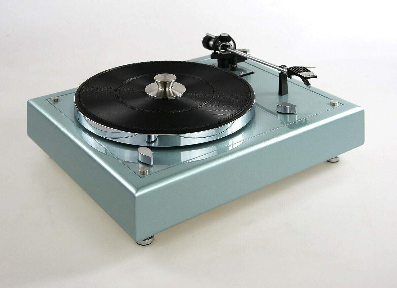 Tocadiscos restaurado y Modificado Thorens TD 145, Color Azul ...