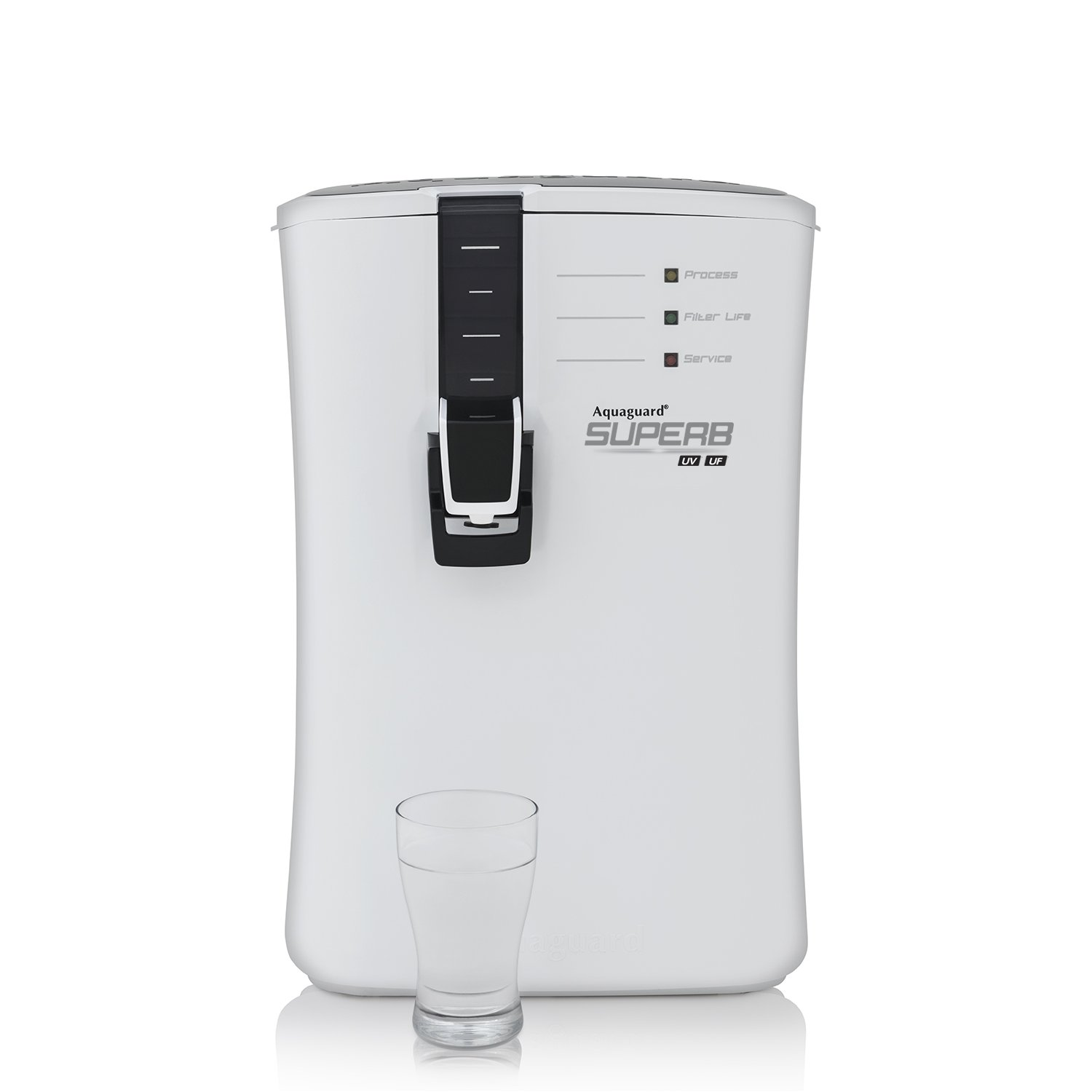 a236afd1afa Eureka Forbes Aquaguard Superb 6.5-Litre UV + UF Water Purifier  Amazon.in   Home   Kitchen