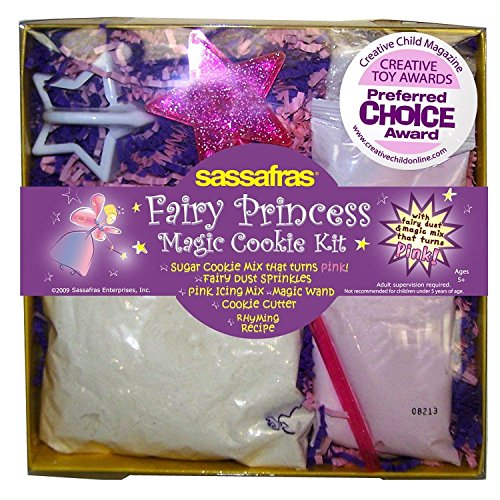 Princess Magic Cookie Set with Cookie Mix That Turns Pink, Pink Icing, Cookie Cutter & More