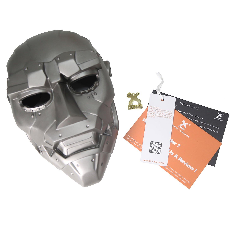 Amazon.com: Xcoser Dr Mask Doom Fantastic Cosplay Four Halloween ...