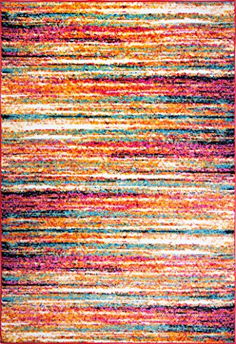 Home Dynamix 204-999 Splash Collection Area Rug Runner, 5'2