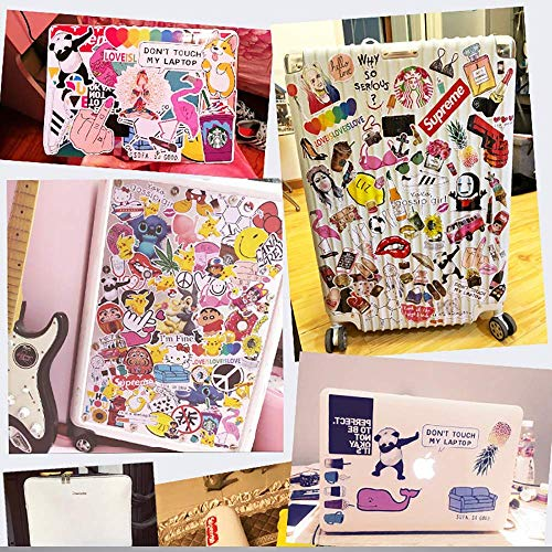 Cool Stickers Pack,53pcs Pink Brand Stickers, Vinyl Waterproof Stickers, Decals for Laptop, Luggage, Car, Skateboard, Motorcycle, Bicycle Decal