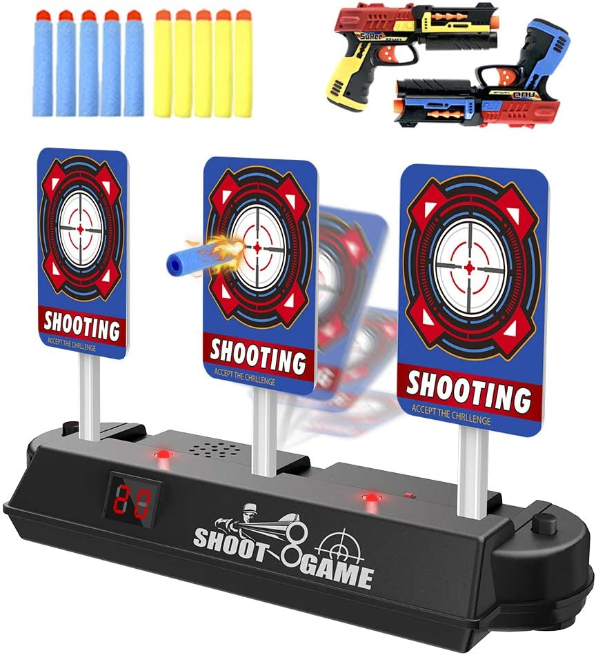 HOMILY Digital Target Compatible for Nerf Guns Rival/Blaster/Mega/Jolt